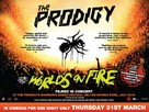The Prodigy: World's on Fire - British Movie Poster (xs thumbnail)
