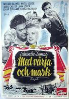 The Fighting Guardsman - Swedish Movie Poster (xs thumbnail)