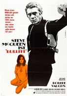Bullitt - German Movie Poster (xs thumbnail)