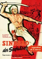 Sinbad the Sailor - German Movie Poster (xs thumbnail)