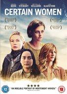Certain Women - British DVD cover (xs thumbnail)