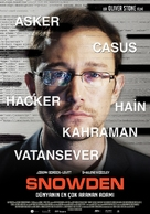 Snowden - Turkish Movie Poster (xs thumbnail)