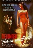 Les salauds vont en enfer - German Movie Poster (xs thumbnail)