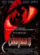 Candyman: Farewell to the Flesh - Danish Movie Poster (xs thumbnail)