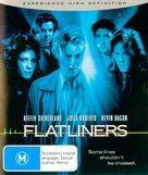 Flatliners - Australian Blu-Ray movie cover (xs thumbnail)