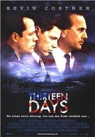 Thirteen Days - German Movie Poster (xs thumbnail)