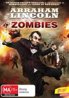 Abraham Lincoln vs. Zombies - Australian Movie Cover (xs thumbnail)