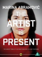 Marina Abramovic: The Artist Is Present - South African DVD cover (xs thumbnail)