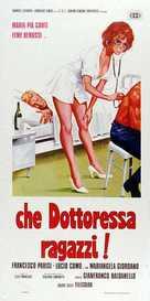 Che dottoressa ragazzi - Italian Movie Poster (xs thumbnail)