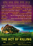 The Act of Killing - German Movie Poster (xs thumbnail)