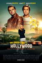 Once Upon a Time in Hollywood - Swedish Movie Poster (xs thumbnail)