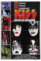 KISS Meets the Phantom of the Park - Argentinian Movie Poster (xs thumbnail)