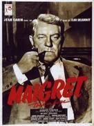 Maigret tend un piège - French Movie Poster (xs thumbnail)