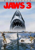 Jaws 3D - DVD cover (xs thumbnail)