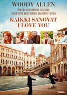 Everyone Says I Love You - Finnish DVD movie cover (xs thumbnail)