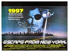 Escape From New York - British Movie Poster (xs thumbnail)