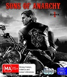 """Sons of Anarchy"" - Australian Blu-Ray movie cover (xs thumbnail)"