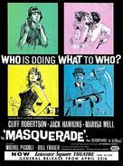 Masquerade - British Movie Poster (xs thumbnail)