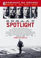 Spotlight - Czech Movie Poster (xs thumbnail)