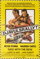 Race with the Devil - Swedish Movie Poster (xs thumbnail)