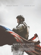 American Sniper - French Movie Poster (xs thumbnail)