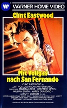 Any Which Way You Can - German VHS movie cover (xs thumbnail)