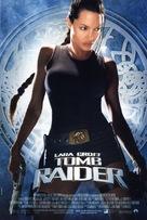Lara Croft: Tomb Raider - Brazilian Theatrical movie poster (xs thumbnail)
