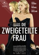 La fille coupée en deux - German Movie Poster (xs thumbnail)