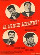 Ah! Les belles bacchantes - French Movie Poster (xs thumbnail)