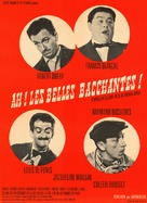 Ah! Les belles bacchantes - French Movie Poster (xs thumbnail)