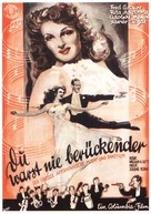 You Were Never Lovelier - German Movie Poster (xs thumbnail)
