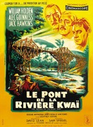 The Bridge on the River Kwai - French Movie Poster (xs thumbnail)