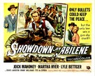 Showdown at Abilene - Movie Poster (xs thumbnail)