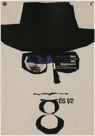 8½ - Hungarian Movie Poster (xs thumbnail)