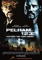 The Taking of Pelham 1 2 3 - Vietnamese Movie Poster (xs thumbnail)