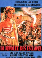 Rivolta degli schiavi, La - French Movie Poster (xs thumbnail)
