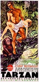 Tarzan the Ape Man - German Movie Poster (xs thumbnail)
