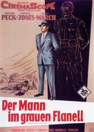 The Man in the Gray Flannel Suit - German Movie Poster (xs thumbnail)