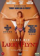 The People Vs Larry Flynt - Danish DVD movie cover (xs thumbnail)
