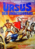 Ursus nella terra di fuoco - German Movie Poster (xs thumbnail)