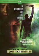 Star Trek: Nemesis - Norwegian DVD cover (xs thumbnail)