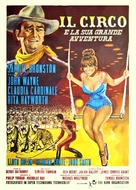 Circus World - Italian Movie Poster (xs thumbnail)