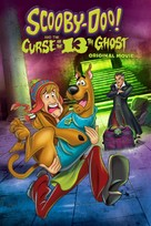 Scooby-Doo! and the Curse of the 13th Ghost - DVD movie cover (xs thumbnail)