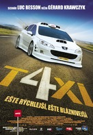 Taxi 4 - Slovak Movie Poster (xs thumbnail)