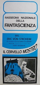 The Lady and the Monster - Italian Movie Poster (xs thumbnail)
