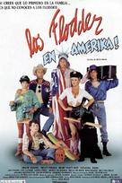 Flodder in Amerika! - Spanish Movie Poster (xs thumbnail)