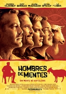 The Men Who Stare at Goats - Argentinian Movie Cover (xs thumbnail)