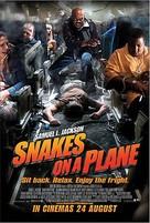 Snakes On A Plane - Singaporean poster (xs thumbnail)