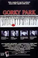 Gorky Park - Italian Movie Poster (xs thumbnail)
