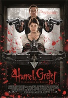 Hansel & Gretel: Witch Hunters - Argentinian Movie Poster (xs thumbnail)